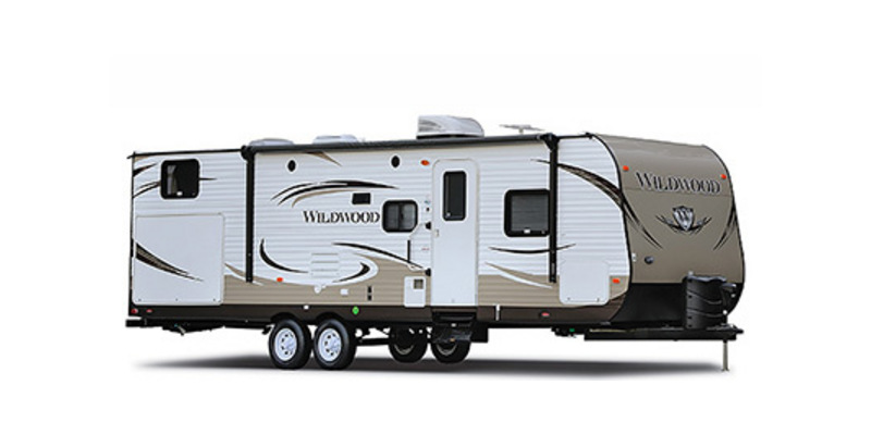 2014 Forest River Wildwood 30QBSS - 12919A  - Burlington RV Superstore