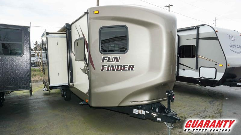 2017 Cruiser RV Fun Finder 212VKS - Guaranty RV Trailer and Van Center - PT3671A