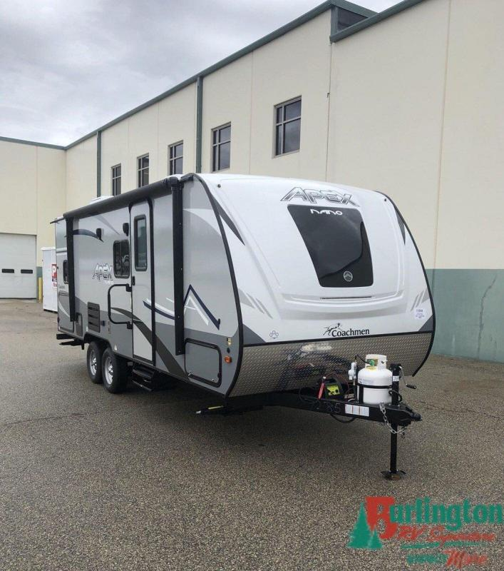 2020 Coachmen Apex Nano 208BHS - Sturtevant, WI - 13508  - Burlington RV Superstore
