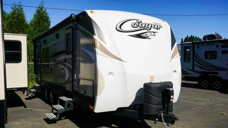 2017 Keystone Cougar Half-Ton 24SABWE - Guaranty RV Trailer and Van Center - 2T39967A
