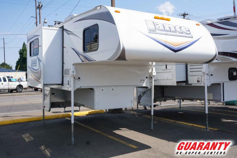 2012 Lance Truck Camper Short Bed 855S - Guaranty RV Fifth Wheels - T41245A