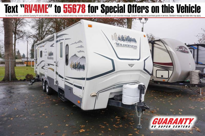 2009 Fleetwood Wilderness 260RLS - Pre-Auction Specials - WT42766A
