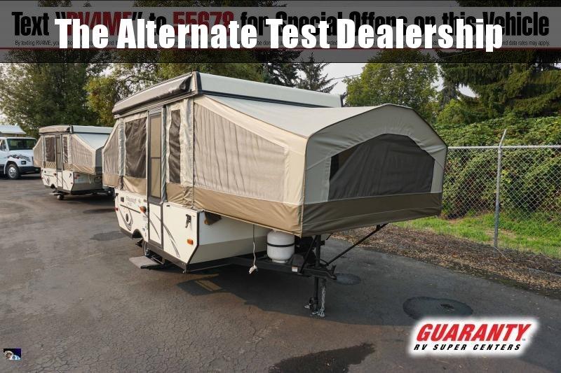 2017 Forest River Flagstaff MAC LTD 206LTD - Guaranty RV Trailer and Van Center - 1PM42713A
