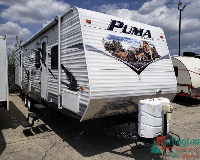 2012 Palomino Puma Series M-31KBH - BRV - 13256A  - Burlington RV Superstore
