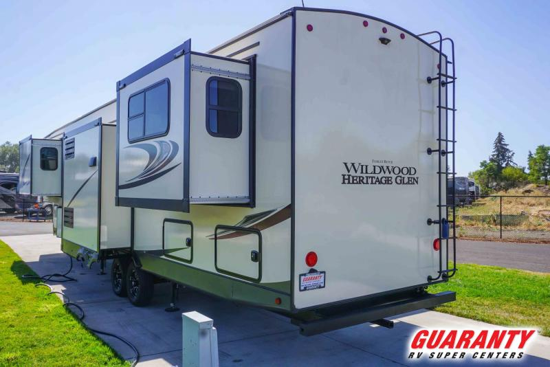 2021 Forest River Wildwood Heritage Glen 372RD - Guaranty RV Fifth Wheels - T41695