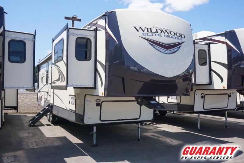 2021 Forest River Wildwood Heritage Glen Elite 36FL - Guaranty RV Fifth Wheels - T41506