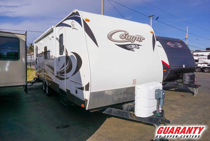 2013 Keystone Cougar Half-Ton 25RLSWE - Guaranty RV Trailer and Van Center - T41227A