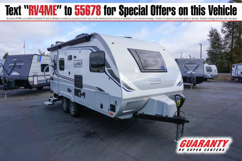 2021 Lance Travel Trailer 1685 - Guaranty RV Trailer and Van Center - T42238