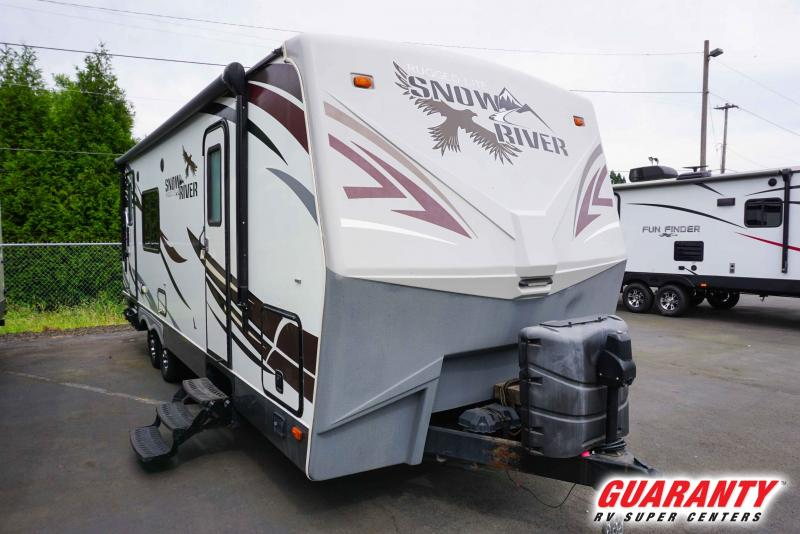 2016 Northwood Snow River 246 RKS - Guaranty RV Trailer and Van Center - T41313A