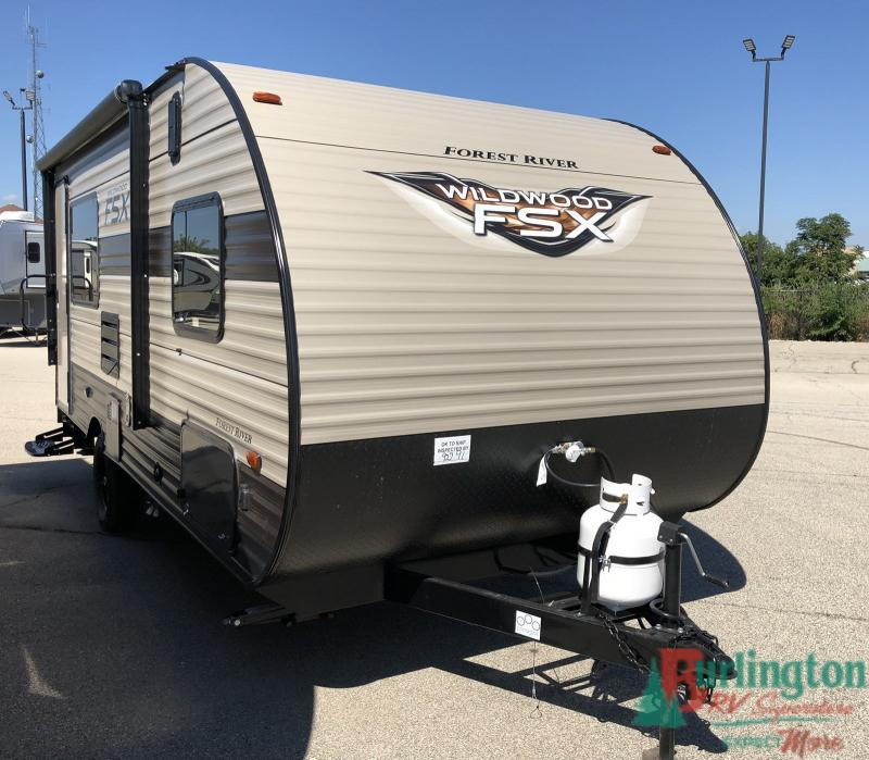 2019 Forest River Wildwood Fsx 181RT - BRV - 13164  - Burlington RV Superstore