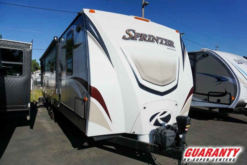 2015 Keystone Sprinter Wide Body 302RLS - Guaranty RV Trailer and Van Center - PT3644B