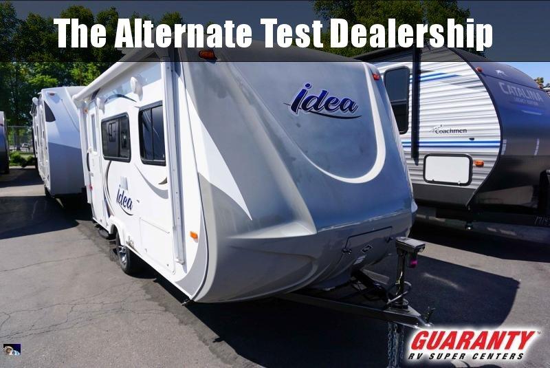2013 Travel Lite Idea 15I - Guaranty RV Trailer and Van Center - T39798A