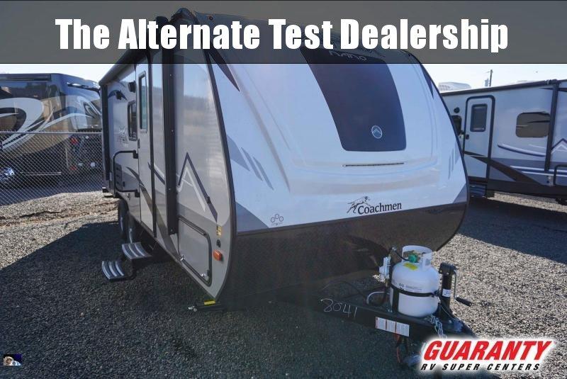 2020 Coachmen Apex Nano 208BHS - Guaranty RV Trailer and Van Center - T40970