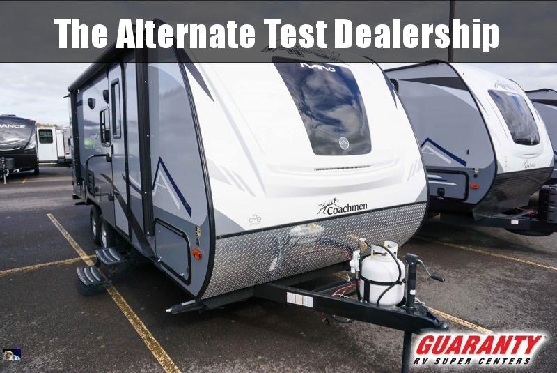 2020 Coachmen Apex Nano 208BHS - Guaranty RV Trailer and Van Center - T40693