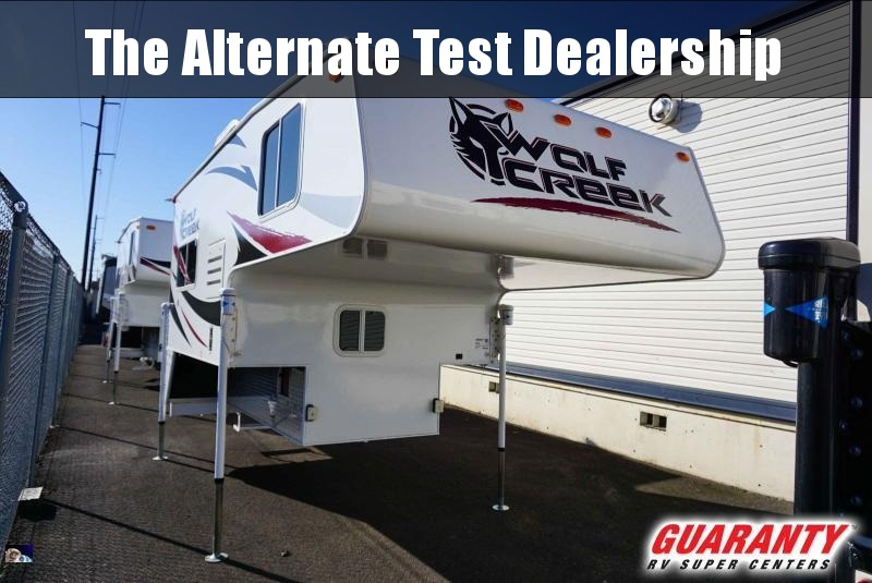 2015 Northwood Wolf Creek 850 - Guaranty RV Trailer and Van Center - M39953A