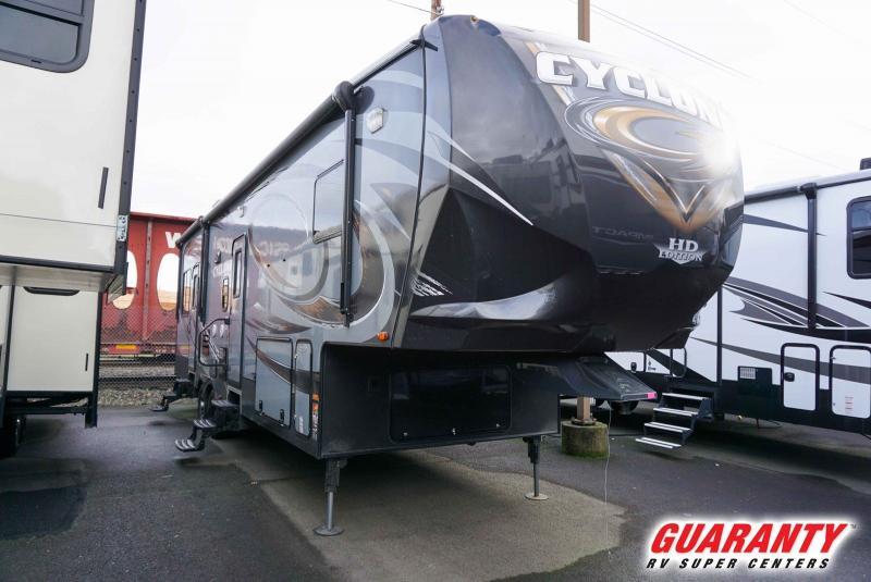 2014 Heartland Cyclone 3100 - Guaranty RV Fifth Wheels - T41081B
