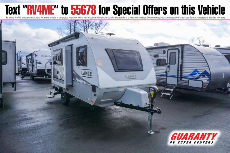 2021 Lance Travel Trailer 1475 - Guaranty RV Trailer and Van Center - T42211