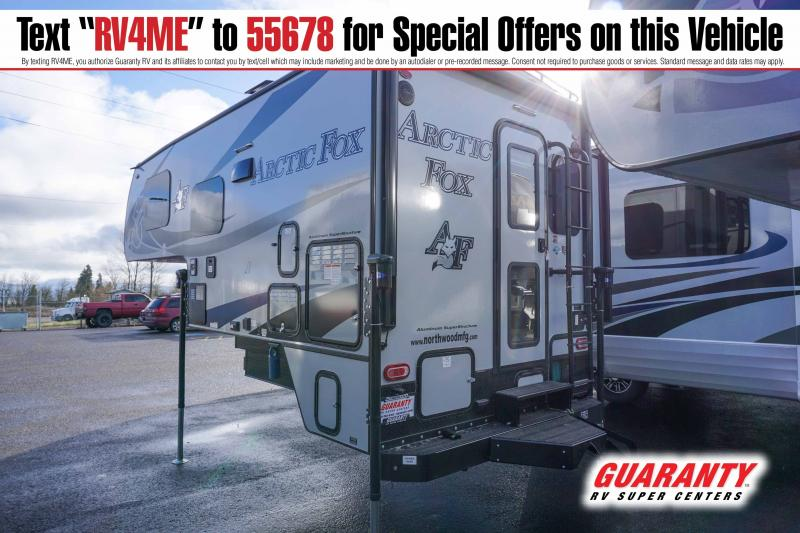 2021 Northwood Arctic Fox Camper 811 - Guaranty RV Fifth Wheels - T42808