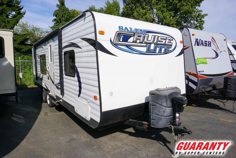 2014 Forest River Salem Cruise Lite 261BH - Guaranty RV Trailer and Van Center - T40449A