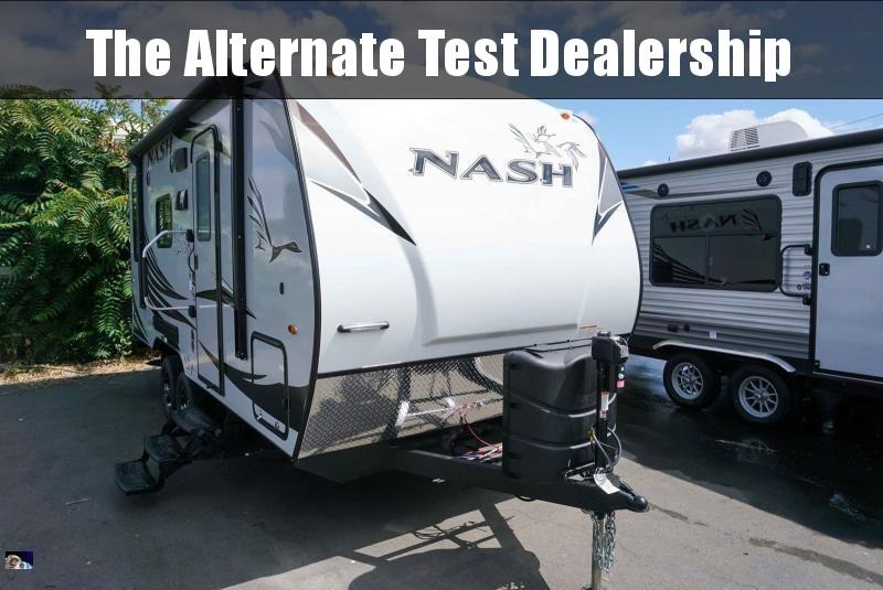 2020 Northwood Nash 17K - Guaranty RV Trailer and Van Center - T40672
