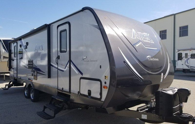 2019 Coachmen Apex Ultra Lite Deep Slide Series 279RLSS - 12891  - Burlington RV Superstore
