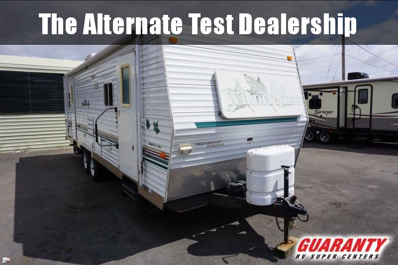 2002 Fleetwood Wilderness 29F - Pre-Auction Specials - WT41123A