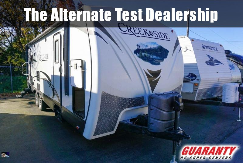 2015 Outdoors RV Creek Side 26RLS - Guaranty RV Trailer and Van Center - 1T41065A