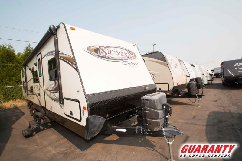 2013 Forest River Surveyor Select SV304 - Guaranty RV Trailer and Van Center - T38106A