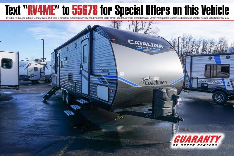 2021 Coachmen Catalina Legacy Edition 263BHSCK - Guaranty RV Trailer and Van Center - T42837