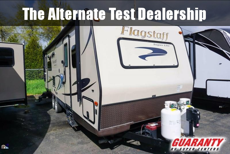 2014 Forest River Flagstaff Super Lite 26RLWS - Guaranty RV Trailer and Van Center - PM41087A