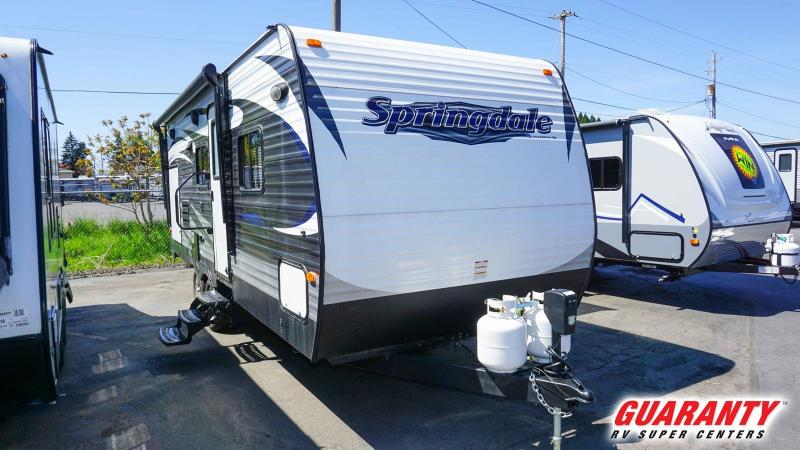 2016 Keystone Springdale 225RB - Guaranty RV Trailer and Van Center - T40086A