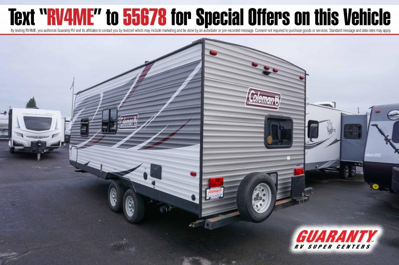2019 Coleman Lantern 215BH - Guaranty RV Trailer and Van Center - T41774A