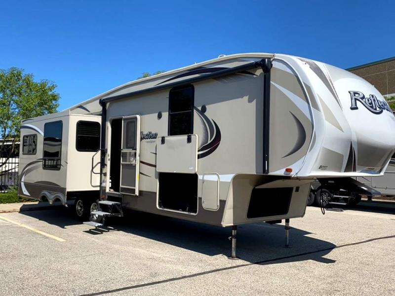 2015 Grand Design Reflection 337RLS - Sturtevant, WI - 13656A  - Burlington RV Superstore
