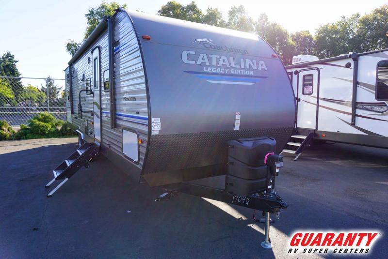 2020 Coachmen Catalina Legacy Edition 293QBCK - Guaranty RV Trailer and Van Center - T40585