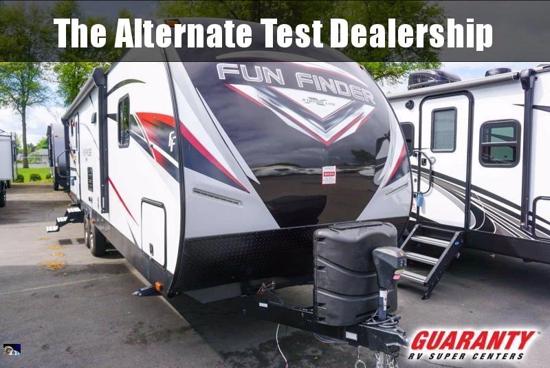 2019 Cruiser Fun Finder Extreme Lite 27BH - Guaranty RV Trailer and Van Center - PT3845