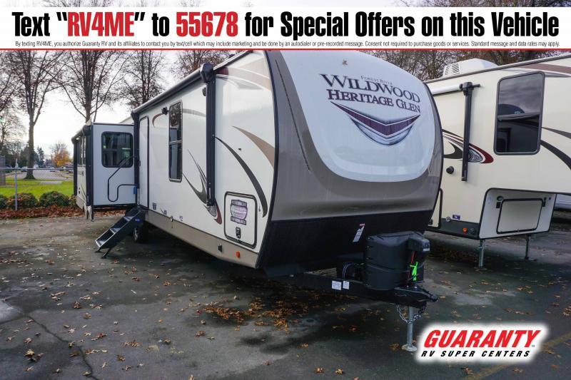 2021 Forest River Wildwood Heritage Glen 308RL - Guaranty RV Trailer and Van Center - T41743