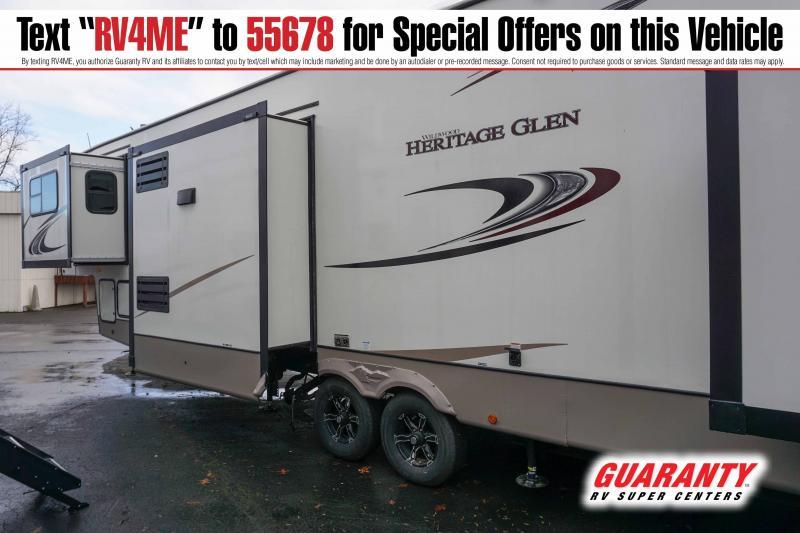 2021 Forest River Wildwood Heritage Glen 378FL - Guaranty RV Fifth Wheels - T42776