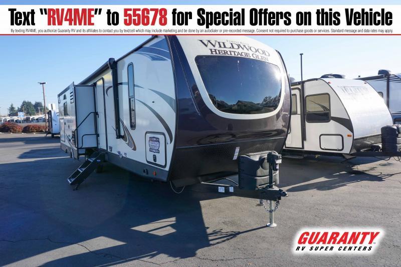 2021 Forest River Wildwood Heritage Glen 273RL - Guaranty RV Trailer and Van Center - T41739