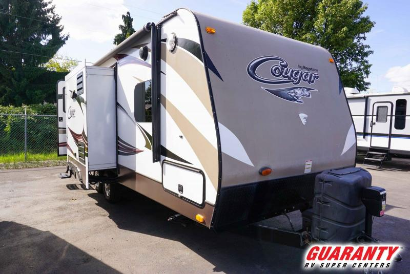 2015 Keystone Cougar Half-Ton 22RBIWE - Guaranty RV Trailer and Van Center - T39827B