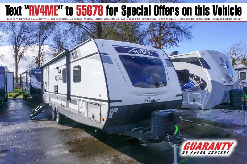 2021 Coachmen Apex Ultra Lite 265RBSS - Guaranty RV Trailer and Van Center - T42860