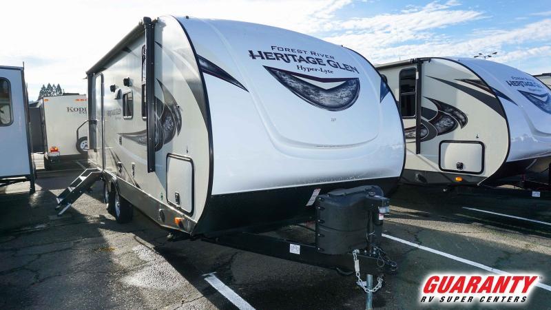 2019 Forest River Wildwood Heritage Glen Hyper-lyte 22RBHL - Guaranty RV Trailer and Van Center - T39933
