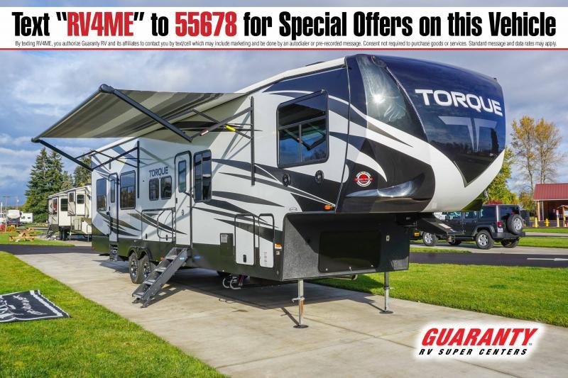 2021 Heartland Torque 378 - Guaranty RV Fifth Wheels - T41678