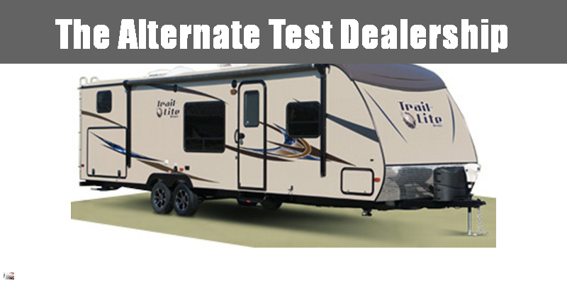 2014 R-Vision Trail-Sport 23RBS - Guaranty RV Trailer and Van Center - T41008A