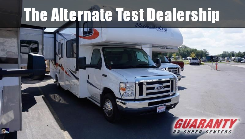 2016 Forest River Sunseeker 2700DS - Guaranty RV Motorized - PM40830