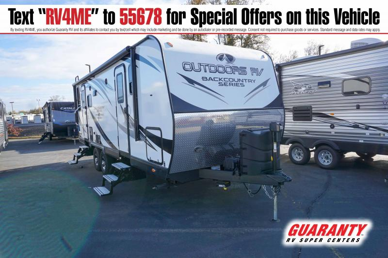 2019 Outdoors Mountain Trax 24RDS - Guaranty RV Trailer and Van Center - T41923A