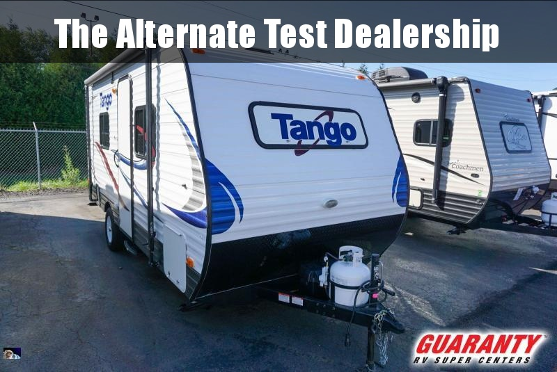 2016 Pacific Coachworks Tango 16RB - Guaranty RV Trailer and Van Center - T40788A