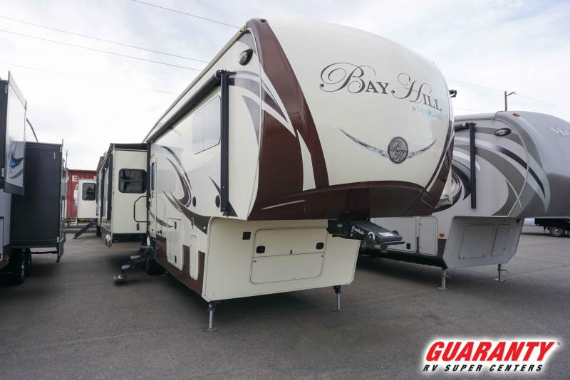 2016 EverGreen Bay Hill 340RK - Guaranty RV Fifth Wheels - T41390A