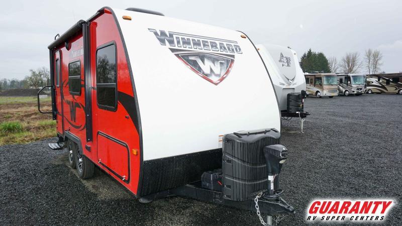 2017 Winnebago Micro Minnie 1706FB - Guaranty RV Trailer and Van Center - T40062A