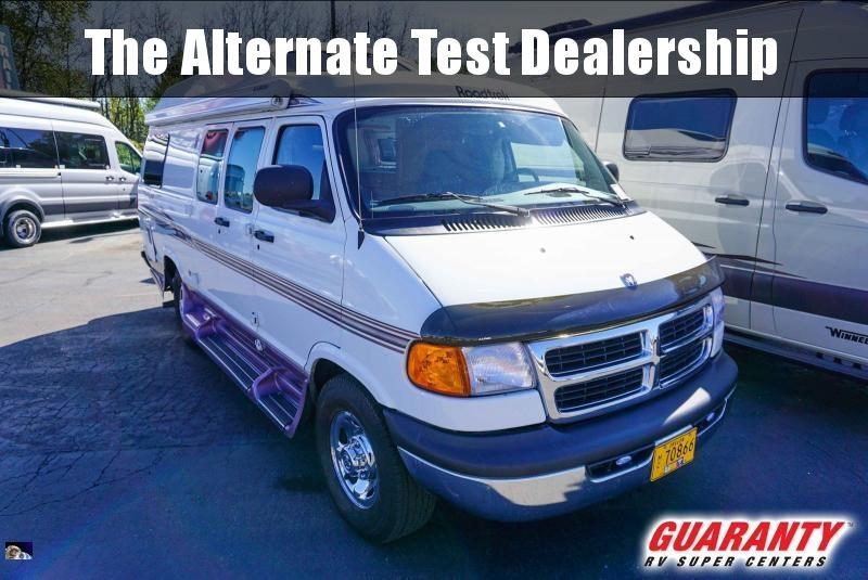 2001 Roadtrek 190 Popular - Guaranty RV Trailer and Van Center - ST3866