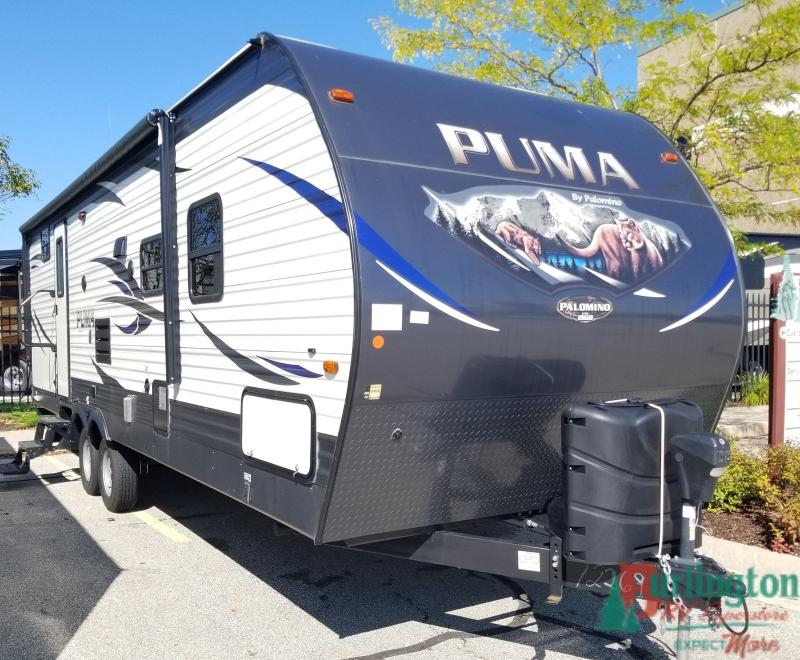 2018 Palomino Puma 28QFDB - BRV - 12988A  - Burlington RV Superstore